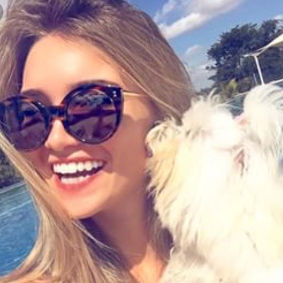 de364aee7f5 Illesteva Accessories - Illesteva Palm Beach Cat Eye Tortoises Sunglasses